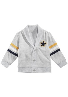 First Impressions Baby Boys Shawl-Collar Star Cardigan, Created for Macy's