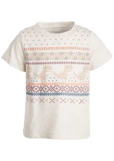 First Impressions Toddler Boys Short Sleeve Woodland Heads Tee, Created for Macy's