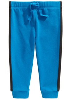 First Impressions Baby Boys Side-Stripe Jogger Pants, Created For Macy's