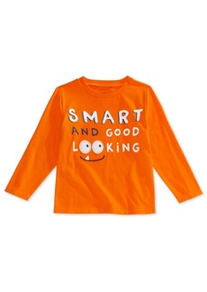 First Impressions Toddler Boys Smart-Print Cotton T-Shirt, Created for Macy's