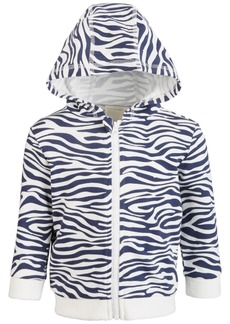 First Impressions Baby Boys Zebra Hoodie, Created for Macy's