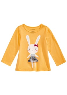 First Impressions Baby Girls Bunny Graphic Top, Created for Macy's