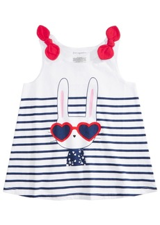 First Impressions Baby Girls Cotton Bunny Tank Top, Created for Macy's