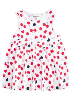First Impressions Baby Girls Cotton Cherry Heart Tunic, Created for Macy's