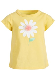 First Impressions Baby Girls Cotton Daisy T-Shirt, Created for Macy's