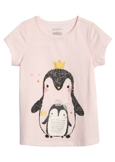 First Impressions Baby Girls Cotton Penguin T-Shirt, Created for Macy's