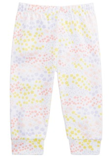 First Impressions Baby Girls Cotton Wildflower Jogger Pants, Created for Macy's