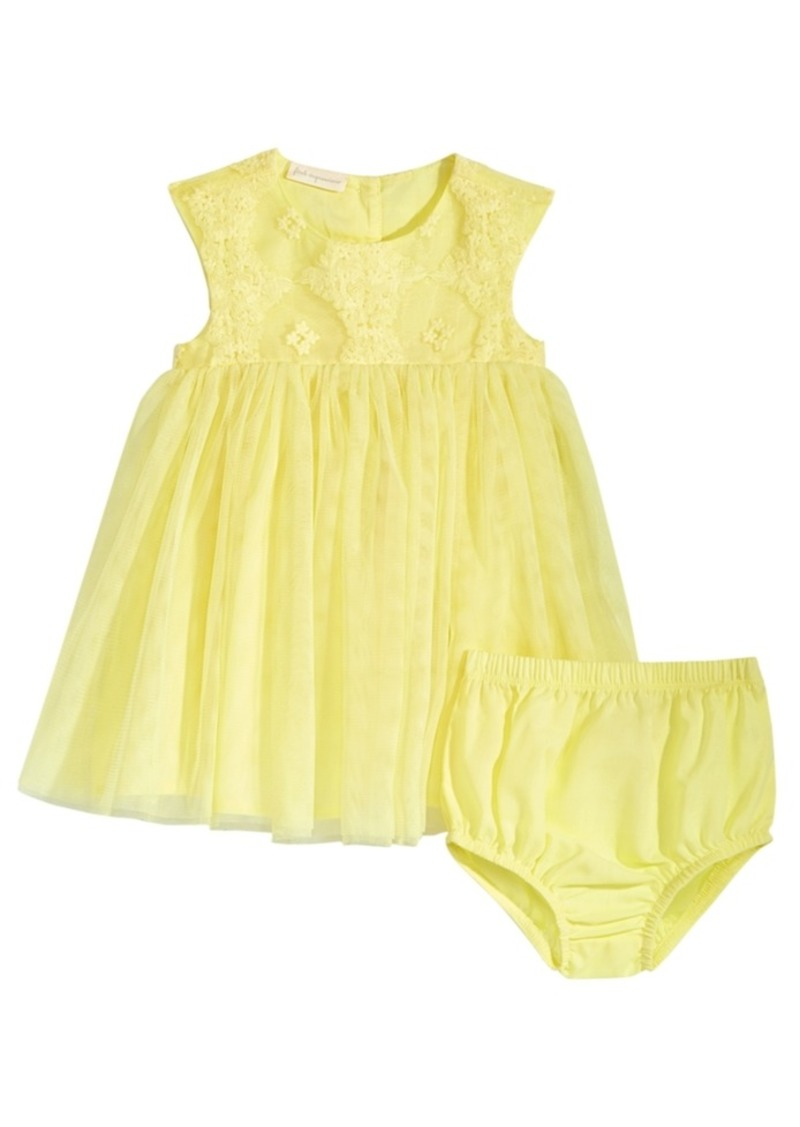 cd4471c431f9 First Impressions First Impressions Baby Girls Eyelet Lace Dress ...