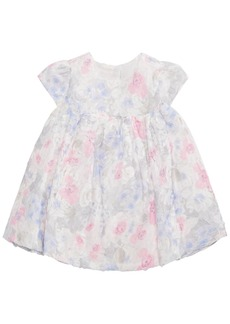 First Impressions Baby Girls Floral-Lace Rosette Dress, Created for Macy's