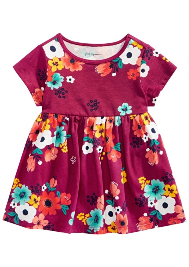 32bf10124 First Impressions Toddler Girls Floral-Print Cotton Tunic, Created for  Macy's
