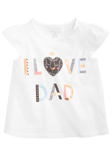 First Impressions Baby Girls Graphic-Print Cotton Top, Created for Macy's