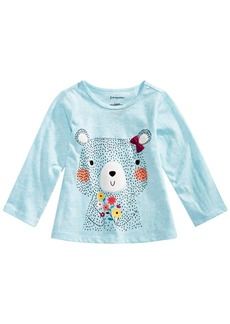 First Impressions Baby Girls Graphic T-Shirt, Created for Macy's