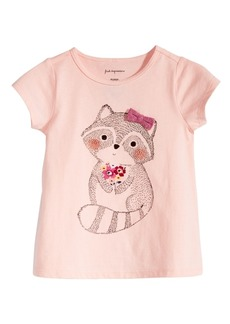 First Impressions Toddler Girls Racoon-Print T-Shirt, Created for Macy's