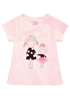 First Impressions Baby Girls Sisters Graphic Cotton Tunic, Created for Macy's