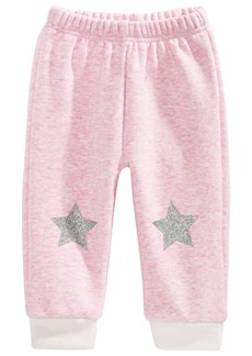 First Impressions Baby Girls Star Jogger Pants, Created for Macy's