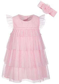 First Impressions Baby Girls Statement Dress, Created for Macy's