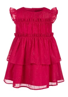 Details about  /First Impressions Baby Girls Swan Ruffle Dress,
