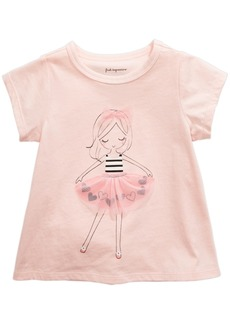 First Impressions Baby Girls Tutu Girl T-Shirt, Created for Macy's