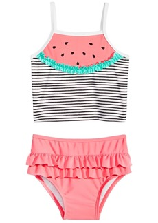 First Impressions Baby Girls Watermelon Tankini, Created for Macy's