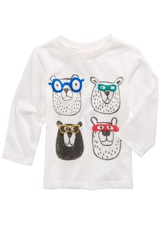First Impressions Bears-Print Cotton T-Shirt, Baby Boys, Created for Macy's