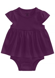 First Impressions Cotton Bodysuit Dress, Baby Girls, Created for Macy's