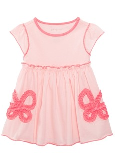 First Impressions Cotton Bows Tunic, Baby Girls, Created for Macy's