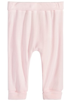 First Impressions Cotton Jogger Pants, Baby Girls, Created for Macy's