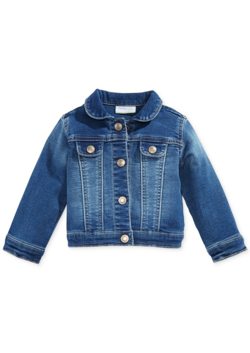 261965bf52ca First Impressions First Impressions Baby Girls Denim Jacket