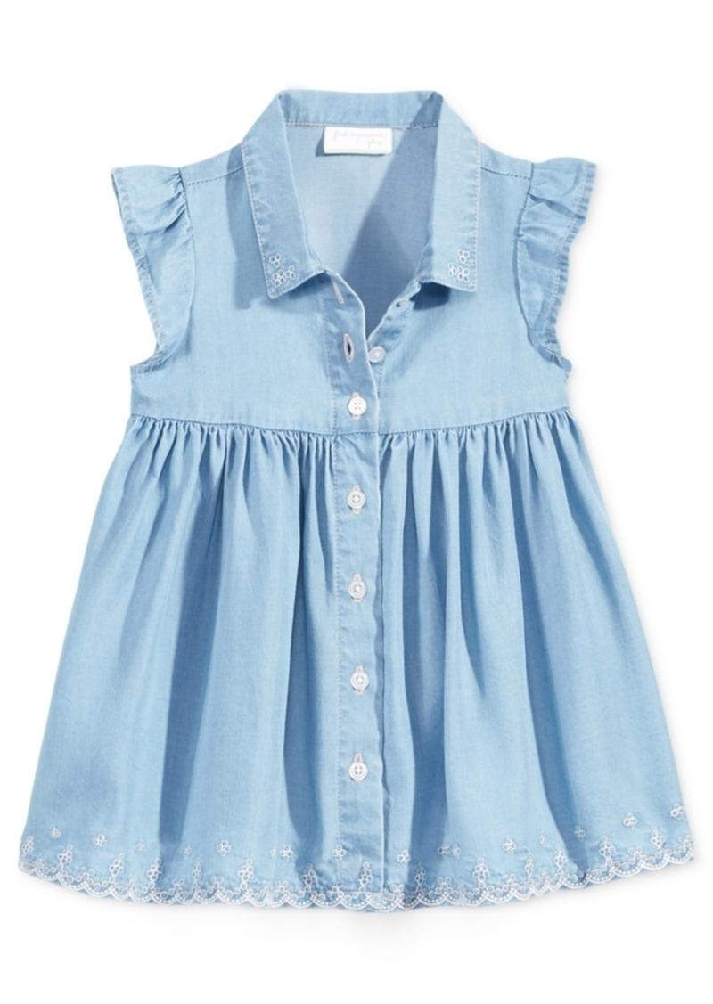172e19068 First Impressions First Impressions Flutter-Sleeve Denim Dress