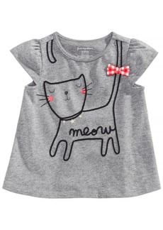 First Impressions Graphic Cotton T-Shirt, Baby Girls, Created for Macy's