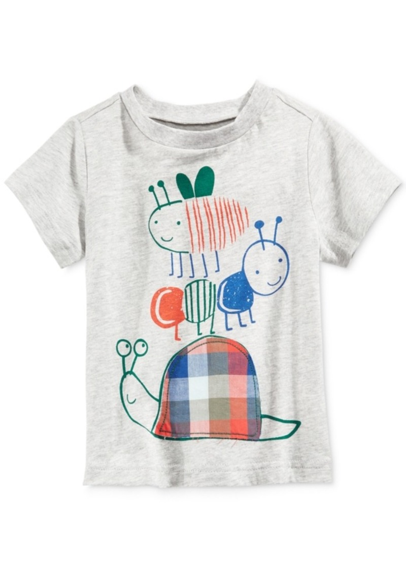 d460e7502dd1 First Impressions First Impressions Graphic-Print Cotton T-Shirt ...