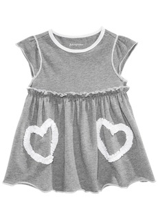 First Impressions Graphic-Print Cotton Tunic, Baby Girls, Created for Macy's