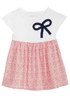 First Impressions Heart-Print Cotton Tunic, Baby Girls, Created for Macy's