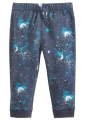 First Impressions Pull-On Galaxy-Print Jogger Pants, Baby Boys, Created for Macy's