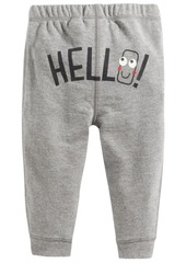 First Impressions Pull-On Hello Jogger Pants, Baby Boys, Created for Macy's