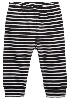 First Impressions Striped Cotton Jogger Pants, Baby Boys, Created for Macy's