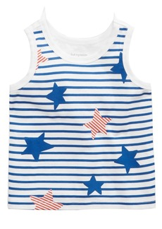 First Impressions Striped Cotton Tank Top, Baby Boys, Created for Macy's
