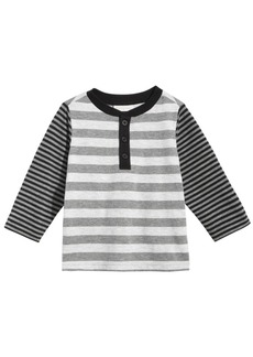 43d89809e922 First Impressions First Impressions Striped Henley T-Shirt