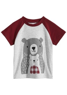 84c9f9d4 First Impressions Baby Boys Bears Graphic T-Shirt, Created for Macy's