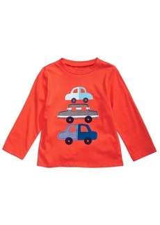 First Impressions Baby Boys Cotton Cars T-Shirt, Created for Macy's