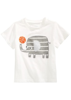 First Impressions Toddler Boys Cotton Elephant T-Shirt, Created for Macy's