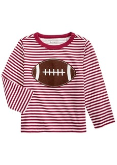 First Impressions Toddler Boys Cotton Striped Football T-Shirt, Created For Macy's