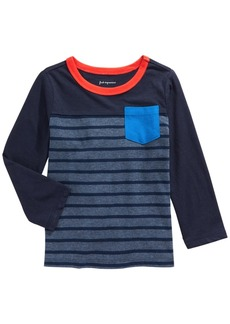 First Impressions Baby Boys Cotton Striped T-Shirt, Created for Macy's