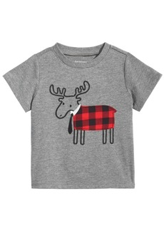 First Impressions Toddler Boys Elk Graphic T-Shirt, Created for Macy's