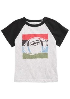 First Impressions Toddler Boys Football-Print T-Shirt, Created for Macy's