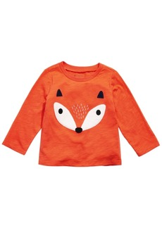 First Impressions Baby Boys Cotton Fox T-Shirt, Created for Macy's