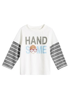 First Impressions Toddler Boys Handsome Graphic Cotton T-Shirt, Created for Macy's