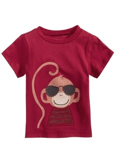 First Impressions Toddler Boys Monkey-Print Cotton T-Shirt, Created for Macy's