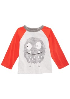 First Impressions Baby Boys Monster-Print T-Shirt, Created for Macy's