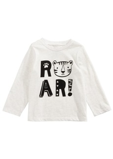 First Impressions Toddler Boys Roar-Print Cotton T-Shirt, Created for Macy's